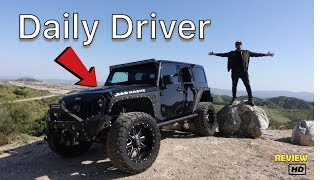 Daily Driving A Jeep Wrangler Jk  Pros And Cons (MY Experience )