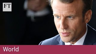 Macron battles to stay on top in France as presidency falters