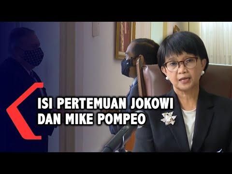 full isi pertemuan presiden jokowi dan mike pompeo