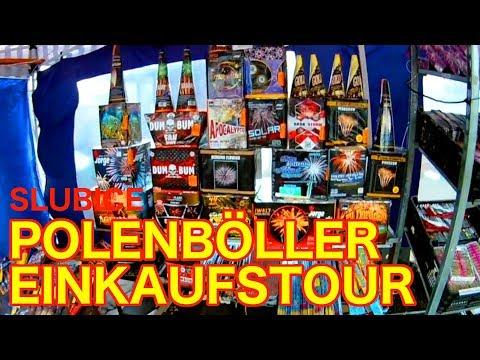 Polenböller Einkaufstour in Slubice - Silvester 2017 Feuerwerk kaufen Polen