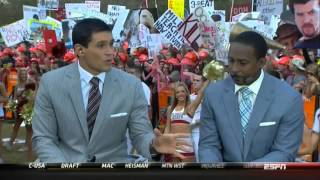 Paul Finebaum owned, educated & ignored by Desmond Howard & GD cast