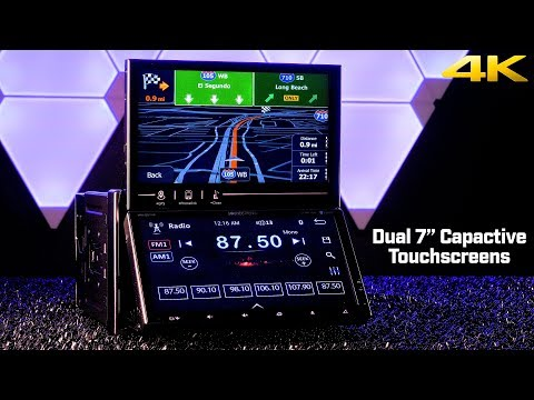 Soundstream VRN-DD7HB – Dual 7″ Capacitive Touchscreen Double DIN Stereo