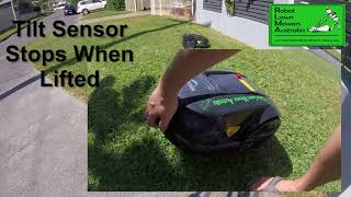 Robot Lawn Mowers Australia – Exgain E1800 Features Video