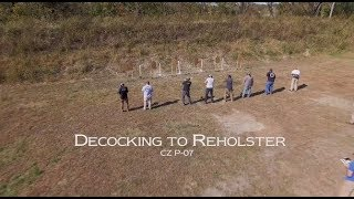 Decocking to Reholster with Mike Pannone