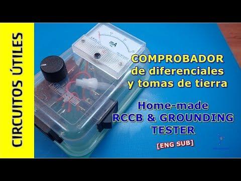 Circuitos UTILES 18. Comprobador DIFERENCIAL y tomas de TIERRA #TupperElectronica