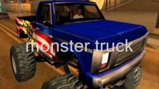 gta san andreas cheats ps2 monster truck - मुफ्त ऑनलाइन