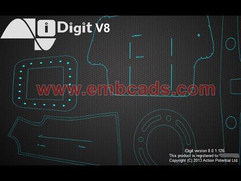 iDigit v8 Photo Digitiser | Digitising Software with Camera and Mobile Board | Intelligent Pattern Digitising
