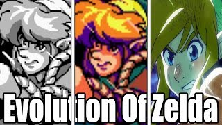 Evolution Of The Legend Of Zelda Link's Awakening (1993-2019)
