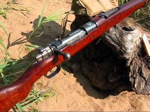 Turkish - Ottoman Mauser Bolt Action Rifle: Rifle model +