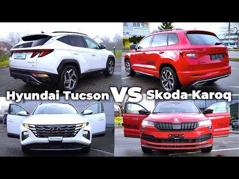 Hyundai Tucson 2021 vs Skoda Karoq 2021