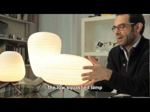 Youtube-video om Rituals bordlampe fra Foscarini