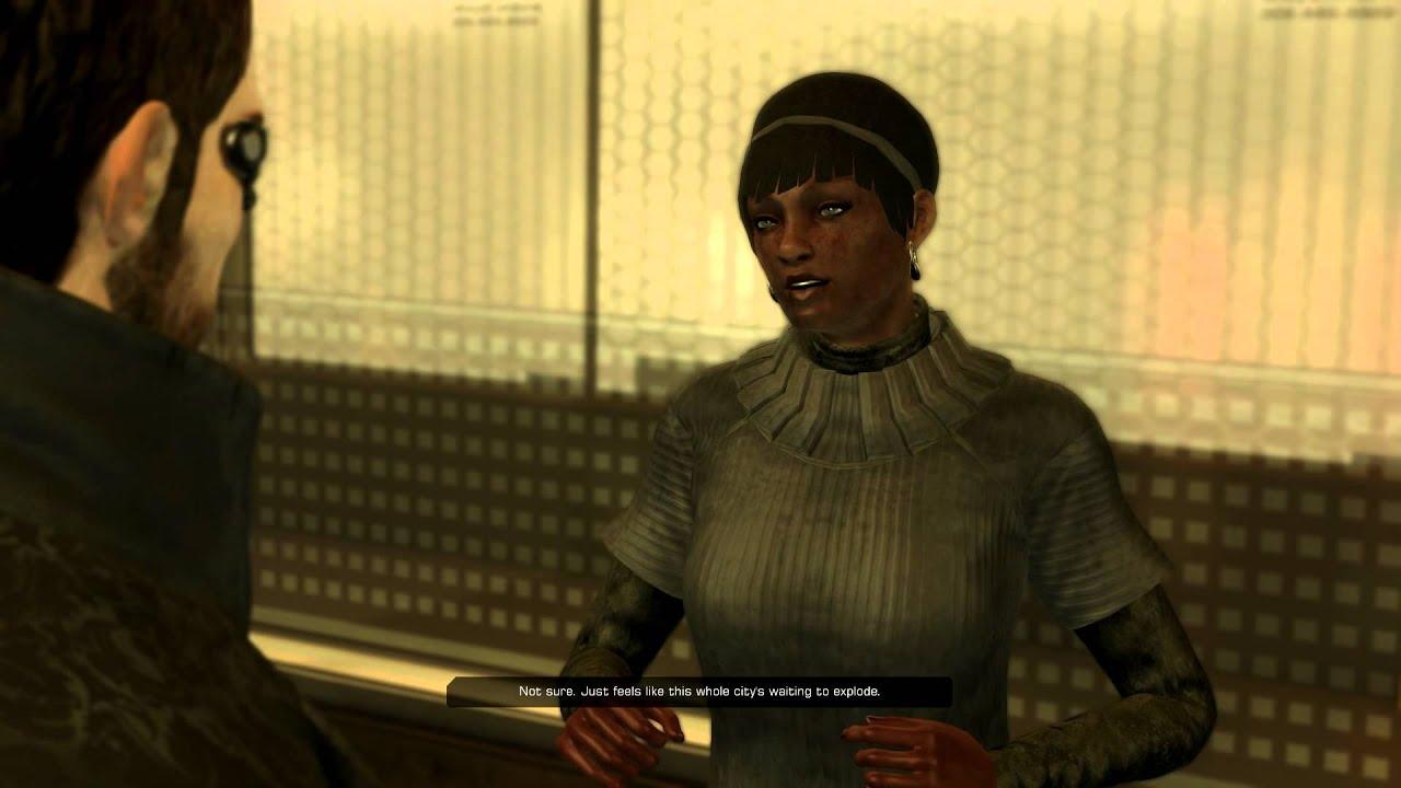 That Weirdly Racist NPC In Deus Ex: Human Revolution