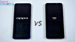 Oppo F9 Pro vs Poco F1 SpeedTest and Camera Comparison