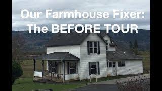 Farmhouse Fixer BEFORE TOUR - AnOregonCottage.com
