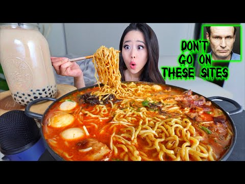 CHEESY SPICY BEEF SHORT RIBS MUKBANG | STORYTIME | EATING SHOW