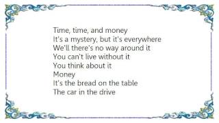 John Farnham - Time and Money Lyrics