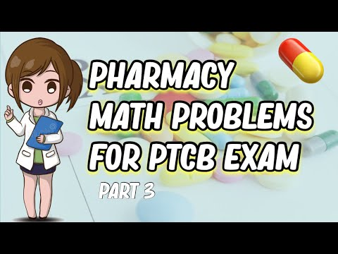 PTCB MATH PRACTICE QUESTIONS| SOLVING STEP BY STEP ...