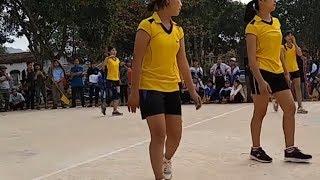 Bóng chuyền nữ học sinh cấp 2 Thạch Thành.