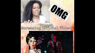 迪玛希Dimash - Screaming 呐喊 OFFICIAL MUSIC VIDEO   REACTION