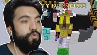BİR ANDA KARŞIMDA BELİRDİ !!!   Minecraft: BED WARS