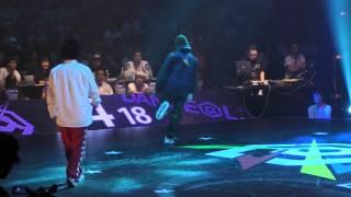 Yusei(D-BLAST) vs YASS(Beat Buddy Boi) BEST4 HIPHOP / DANCE@LIVE 2016 FINAL