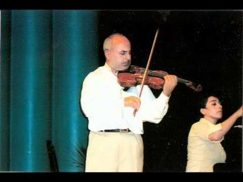 violin-Artash Terzian,piano-Zozefina Orfanidi//Chora.moldavian folk music- Dance,