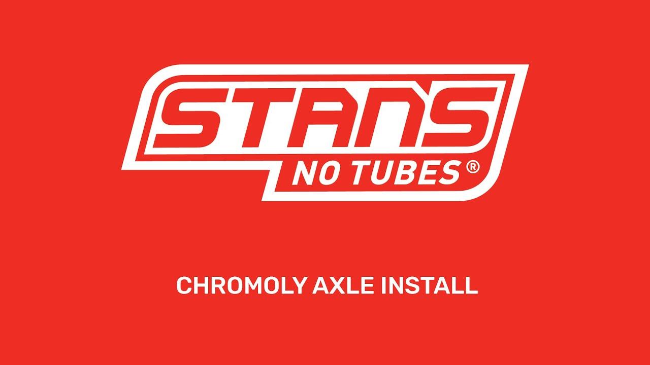 Chromoly Axle Install