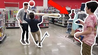 TRYING TO GET KICKED OUT OF WALMART! (FT. DOM TRACY)