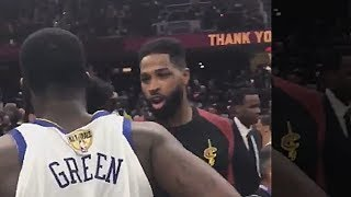 Tristan Thompson Punched Draymond Green and This Is Why