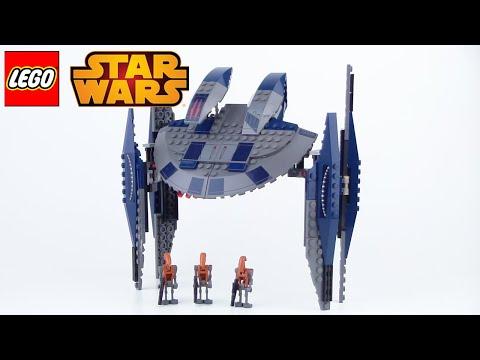 Vidéo LEGO Star Wars 8016 : Hyena Droid Bomber