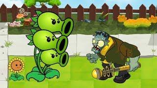 Plants Vs Zombies GW Animation  - Episode 1 - Frankengarg Gargantuar