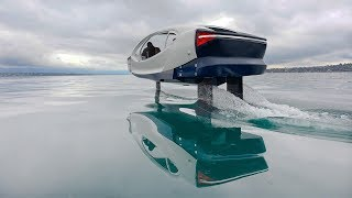 SeaBubbles & ABB Show Off New Zero-Emission Water Taxi