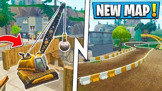 *ALL* Fortnite 6.1 Map Changes! | Tilted Towers, Pizza Truck, New Race Track!