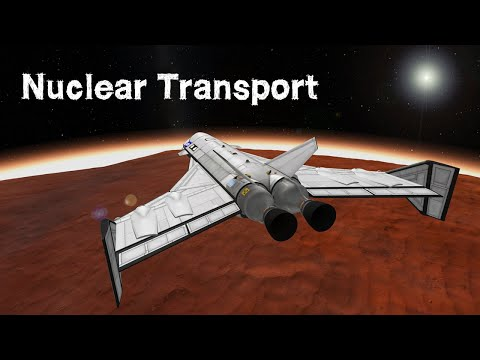 KSP: Nuclear Space Transport System - for Duna!