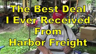 The Last FREE Item Harbor Freight May Offer by PawPaw