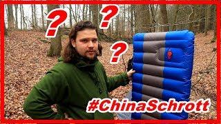 ChinaSchrott ❓ Luftmatratze von Overmont | Isomatte Camping