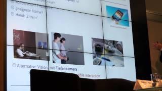 preview picture of video 'Mobile Displays - Wo werden wir zukünftig hinein sehen?'