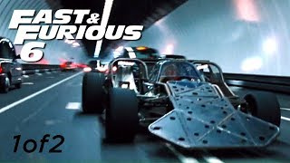 Flip Car Chase 1of2   FAST And FURIOUS 6 (Flip Car Vs BMW M5) 1080p