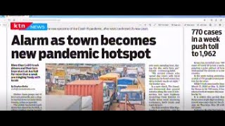 Alarm as town becomes new pandemic hotspot | Press Review