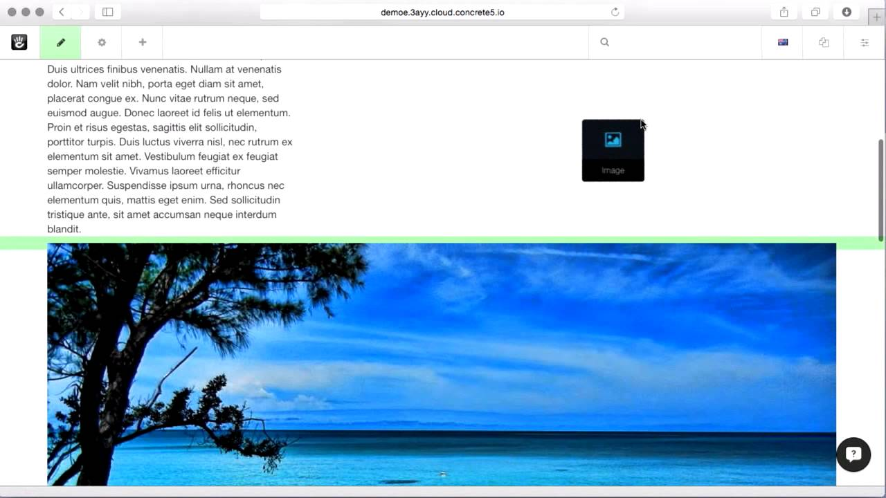 Keep your pages responsive by using layouts which honor your theme's grid settings.