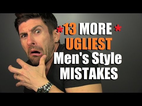 13 Ugly Men's Style Mistakes According To YouTubers | Viewers Choice