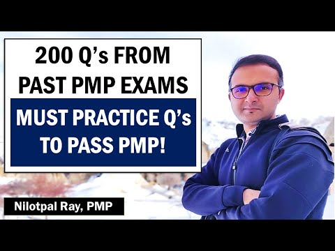 200-Qs from PAST PMP EXAMS | PMP Exam Questions and ...