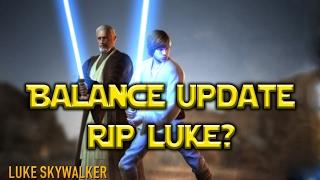 Star Wars: Force Arena - Balance Update RIP Luke?