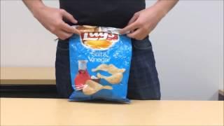 Смотреть онлайн Как верно закрыть пачку чипсов