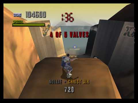 [TAS] N64 Tony Hawk's Pro Skater by Austin Cannon in 04:43,28