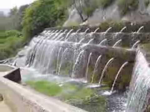 Fuente de los 100 caños, Villanueva del Trabuco, Malaga