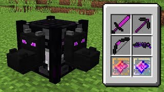 COMO FAZER A CRAFTING TABLE DE ENDER DRAGON SECRETA DO MINECRAFT!