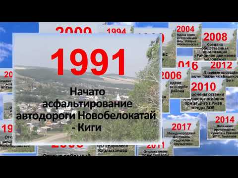 100 событий Белокатайского района. К 100-летию Республики Башкортостан