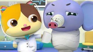 Doctor Mimi Comes to Rescue | Doctor Cartoon, Police Cartoon | Kids Cartoon | Kids Songs | BabyBus