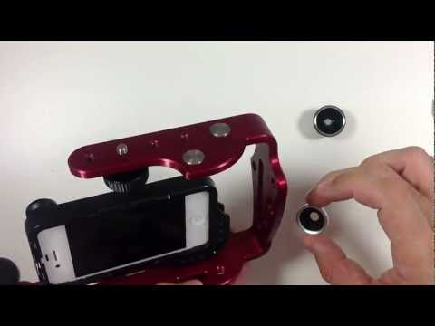 Review: DiffCase Lens-Mount For iPhone 4/4S w/ Cinema Rig